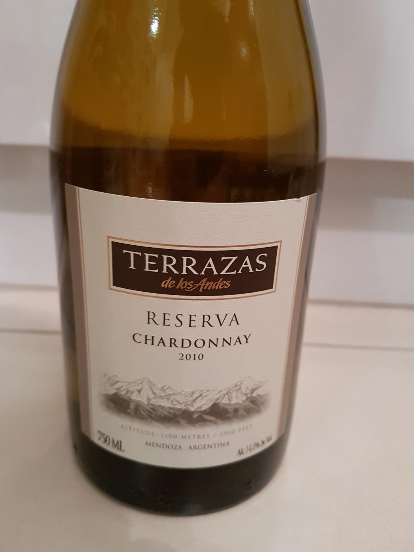 Terrazas Reserva Chardonnay Food Drinks Beverages On