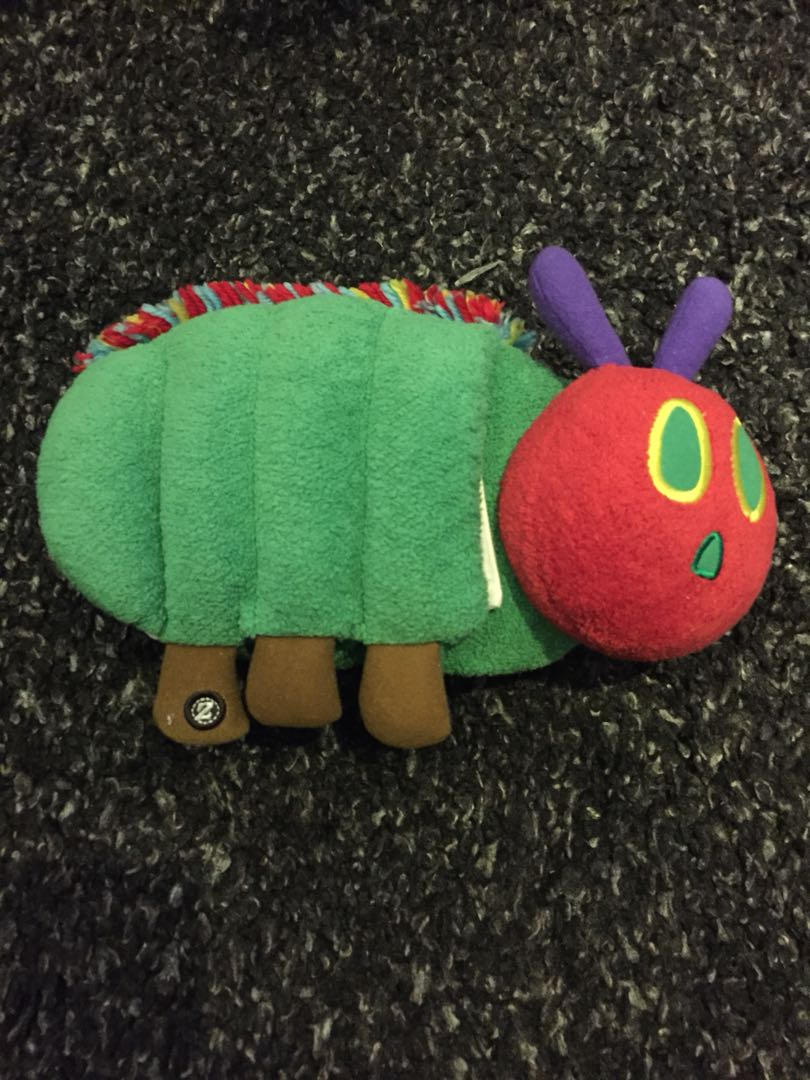Zoobies The Very Hungry Caterpillar Plush Book Toys Games
