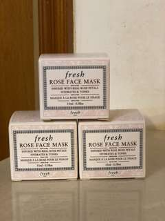 Fresh Rose Face Mask玫瑰保濕面膜