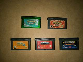 Gameboy Advance Cartridges