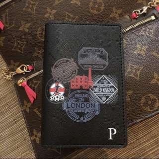 CUSTOM PASSPORT HOLDER saffiano leather travelling