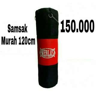 Samsak Everlast Canvas plus Sintetis Leather 120cm - Sansak Murah - Samsak Muaythai Boxing MMA