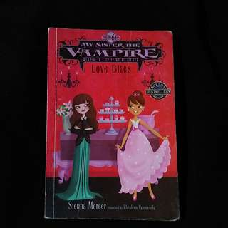 My Sister the Vampire book