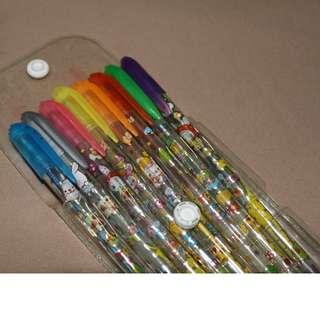 Glittered Gel Pens
