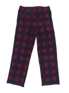 UNIQLO Fleece Plaid Checkered Sweatpant