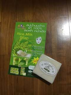 K Brothers Thai Rice Milk Soap