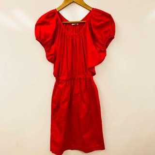Miu Miu red cute dress size 36
