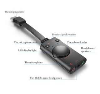 USB Sound Card - v2 - Premium Model