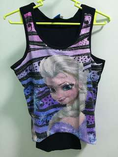 Elsa Sequence Character Top
