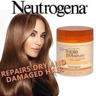 NEUTROGENA TRIPLE MOISTURE DEEP RECOVERY HAIR MASK - 170g