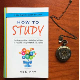 How to Study, 25th Anniversary Edition By Ron Fry