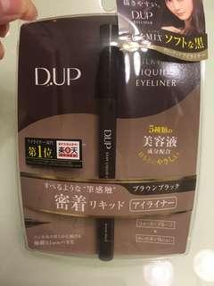 日本D.UP silky liquid eyeliner 防水眼線 (深啡)