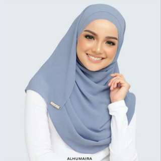 Pre Order Alhumaira Basic Essential Bracing Blue