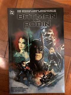 BATMAN & ROBIN the official comic adaptation of the warner bros 1997