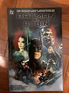 BATMAN & ROBIN the official comic adaptation of the warner bros 1997