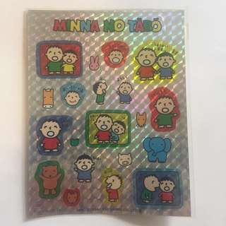Sanrio 大口仔貼紙 1992 絶版