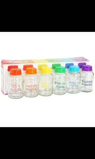 Baby nursing manual pump /bottle milk class BPA free/