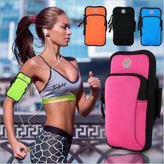 Sports Armband store 4.6 inch phone, key,cards running/gym cycling
