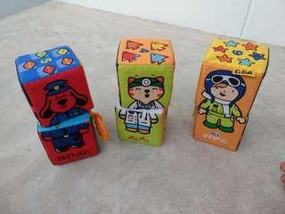 Soft blocks set (6) by K' Kids