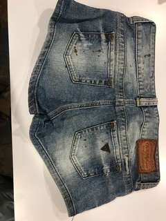 Guess shorts size 26