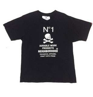 Neighborhood No1 Size M Made in Japan Detail pm