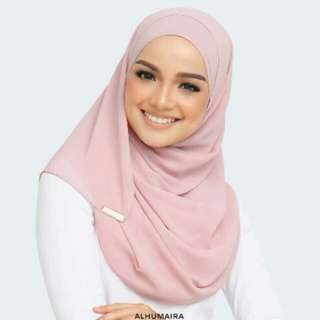 Pre Order Alhumaira Basic Essential Riveria Rose