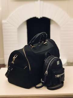MCM mini backpack 🎒 90% new