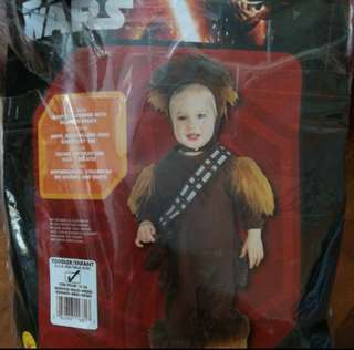 Chewbecca costume for toddler