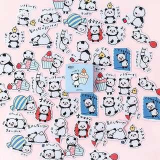 (PO) Fluffy Panda Stickers