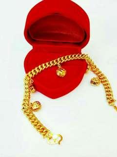 [PREORDER] 916 Gold Bracelet.