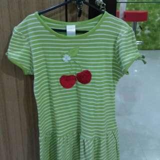 Green Dress Kaos for Girls