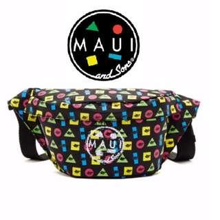 Maui and Sons Printed Twister Elements Belt Bag