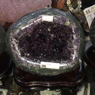 現貨免運費~烏拉圭小晶洞3.95kg 貨物售出不能退換!!!採先匯款後再郵寄貨品到府