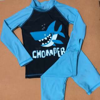 Rashguard set for boys