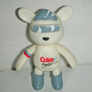 🚚 aaL皮商旋.(企業寶寶玩偶娃娃)此款少見全新Coke(Coca Cola) Light健怡可樂熊公仔!/6房樂箱65