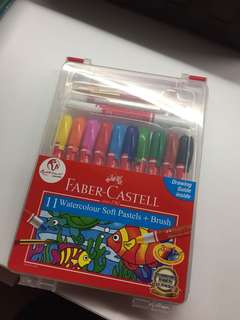 Watercolour Pastel w/ Brush
