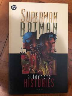 SUPERMAN BATMAN alternate HISTORIES 1996