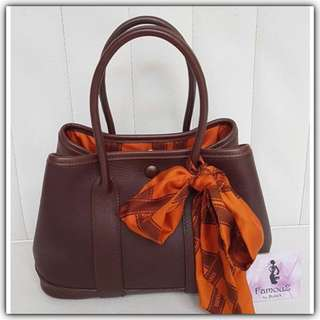 Hermes Garden Party Mini TTPM Vaud Swift Limited Editon (including twilly)