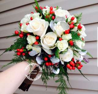 """Roses"" Bridal Bouquet"