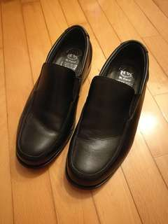 Black Leather Shoes for Men EUR42