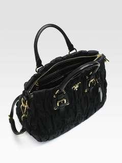 Prada Gaufre Tote Bag