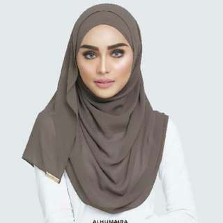 Pre Order Alhumaira Basic Essential Autumn Bronze