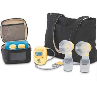 Medela Freestyle Breast Pump & Simple Wishes Hands free bra