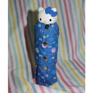Hello Kitty Blue Umbrella
