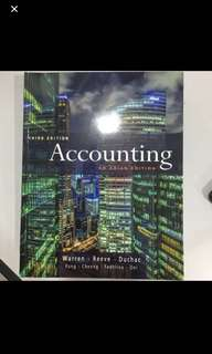 Accounting third edition