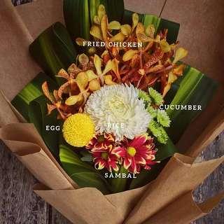 Bunga Nasi Lemak flower bouquet