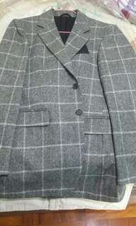 Burberry blazer 冇穿著過 made in italy