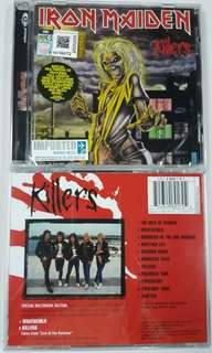 Cd album2 iron maiden cd import