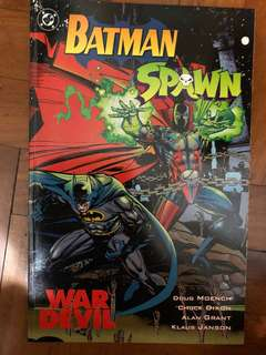 Batman spawn war devil 1994