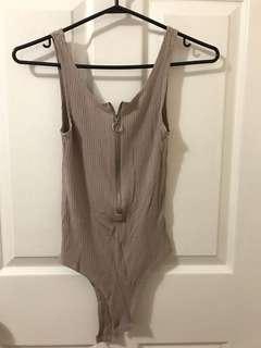 Nude body suit